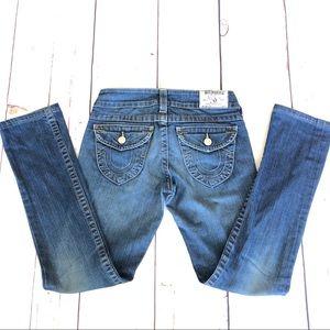 True religion woman's jeans